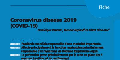COVID-19 Diagnostic et Prise en charge thérapeutique