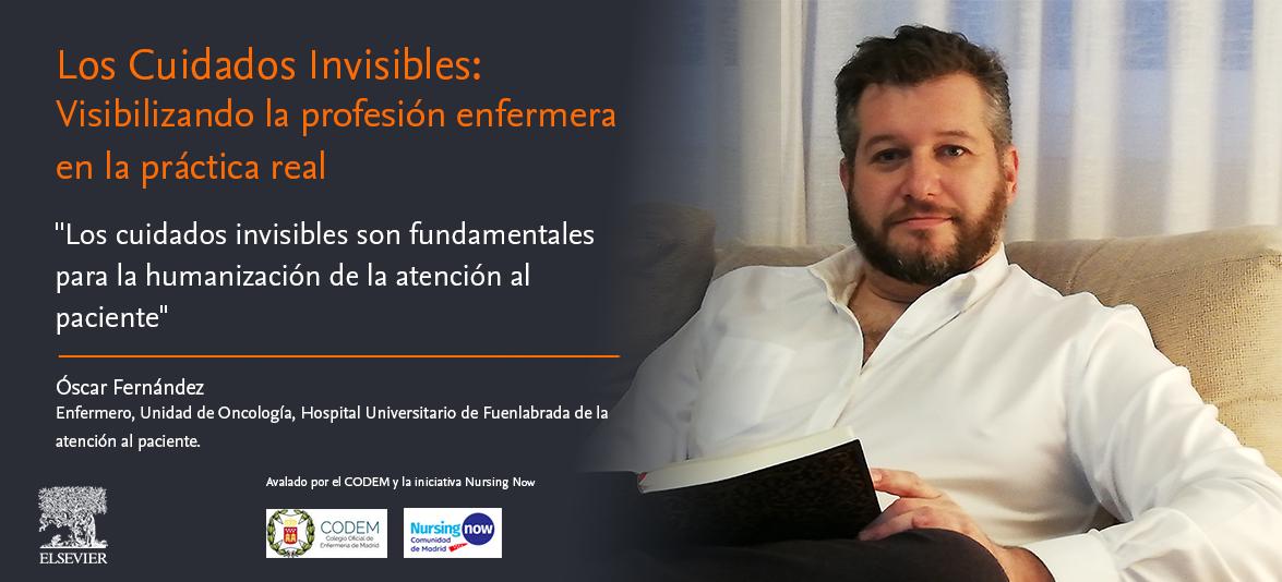 """Óscar Fernández: """"Los cuidados invisibles son imprescindibles para la humanización de la atención al paciente"""""""