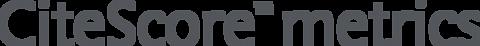citescore-metrics-logo grey | Elsevier solutions