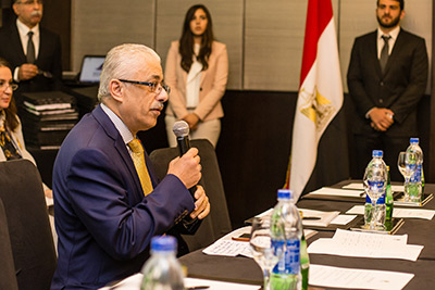 """Prof. Tarke Shawki, PhD, talks about the Egyptian Knowledge Bank and giving all citizens """"the opportunity to learn, think and innovate."""""""