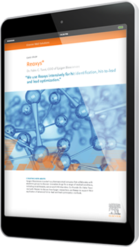 Pharma and Life Sciences: Reaxys Supports Application of Advanced HittoLead and Lead Optimization Methods - R&D Solutions