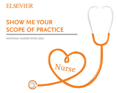 "Download Elsevier's mini-eBook ""Show me your scope of practice."""