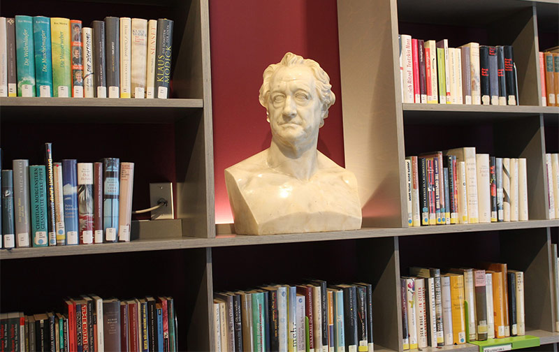 The Goethe Institut: a new location for a very old library near Union Square (Photo by Terry Ballard)