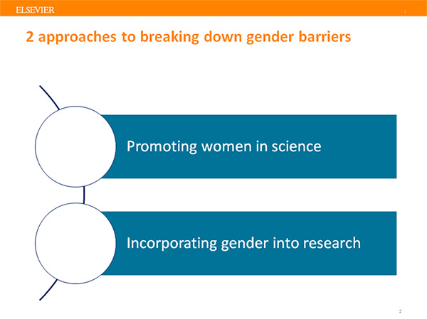 There are two approaches publishers can take to improve gender equality in science.