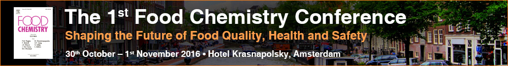 First Food Chemistry Conference - Shaping the Future of Food Quality, Health and Safety