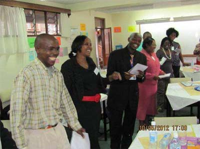 Book Aid International and KNLS facilitated four-day training workshops in Nairobi.
