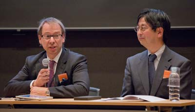 Anders Karlsson, PhD, and Jiro Kokuryo, PhD, introduce their session.