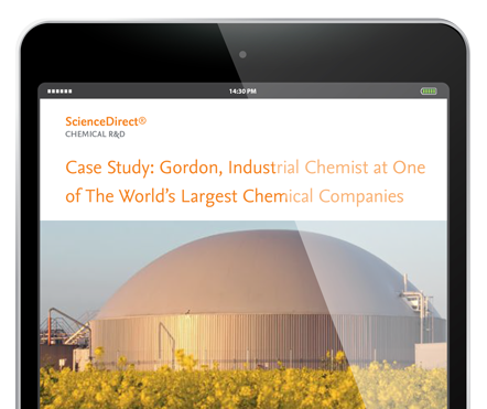 Stay on the cutting edge - Chemical R&D, Chemicals & Materials |Elsevier R&D Solutions