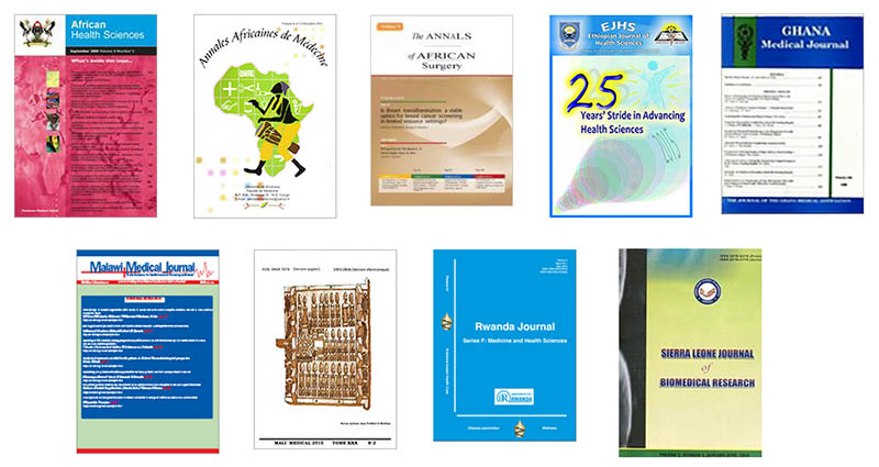 The <a href=&quot;http://www.ajpp-online.org/&quot;>African Journal Partnership Program</a> involves long term-mentoring collaborations between 9 African Journals.