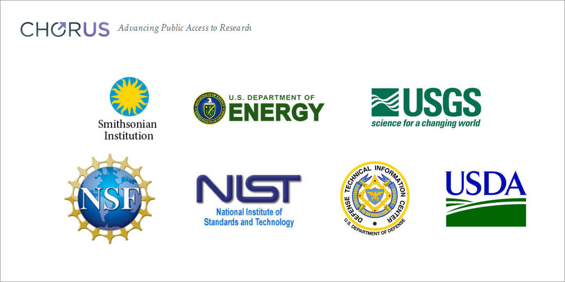 These are the research funders working with CHORUS as part of their public-access plans, pilot projects, or linking arrangements (Source: <a target=
