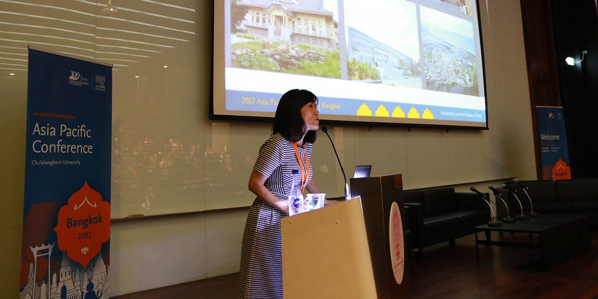 Dr. Huey‐Jen Jenny Su, President of National Cheng Kung University (NCKU) in Taiwan, talks about how her university works with the government and corporations to provide data and analytics to take on key challenges.