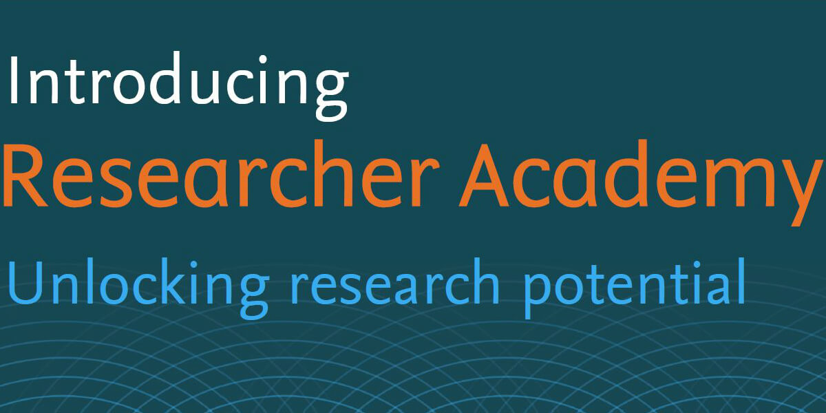 Researcher Academy Banner