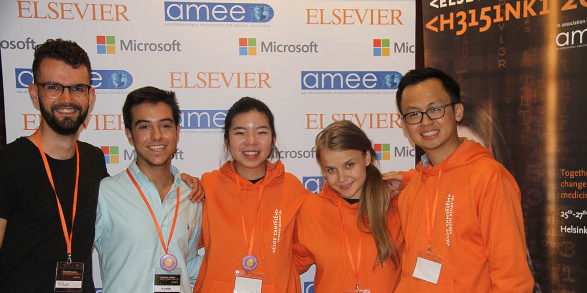 PatientX team at Elsevier Hacks