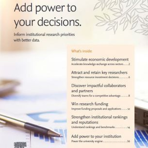 Add power to your decisions - Research Intelligence | Elsevier