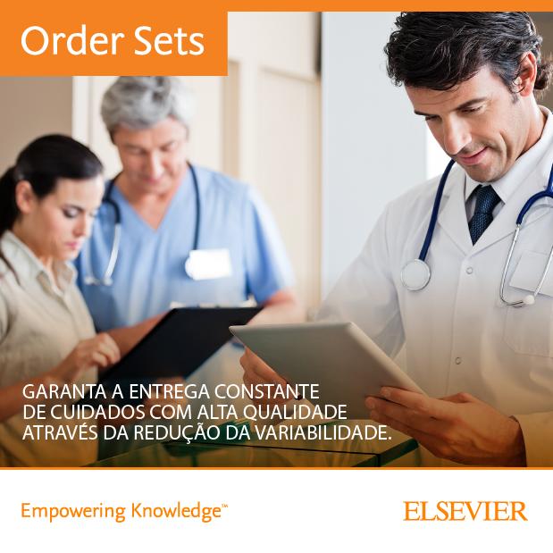 Order Sets traz normalização e padronização de protocolos de conduta médica