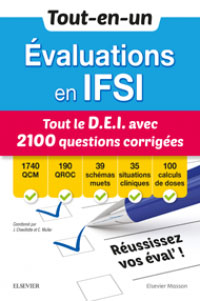 IFSI TOUT LE D.E.I AVEC 2100 QUESTIONS CORRIGÉES