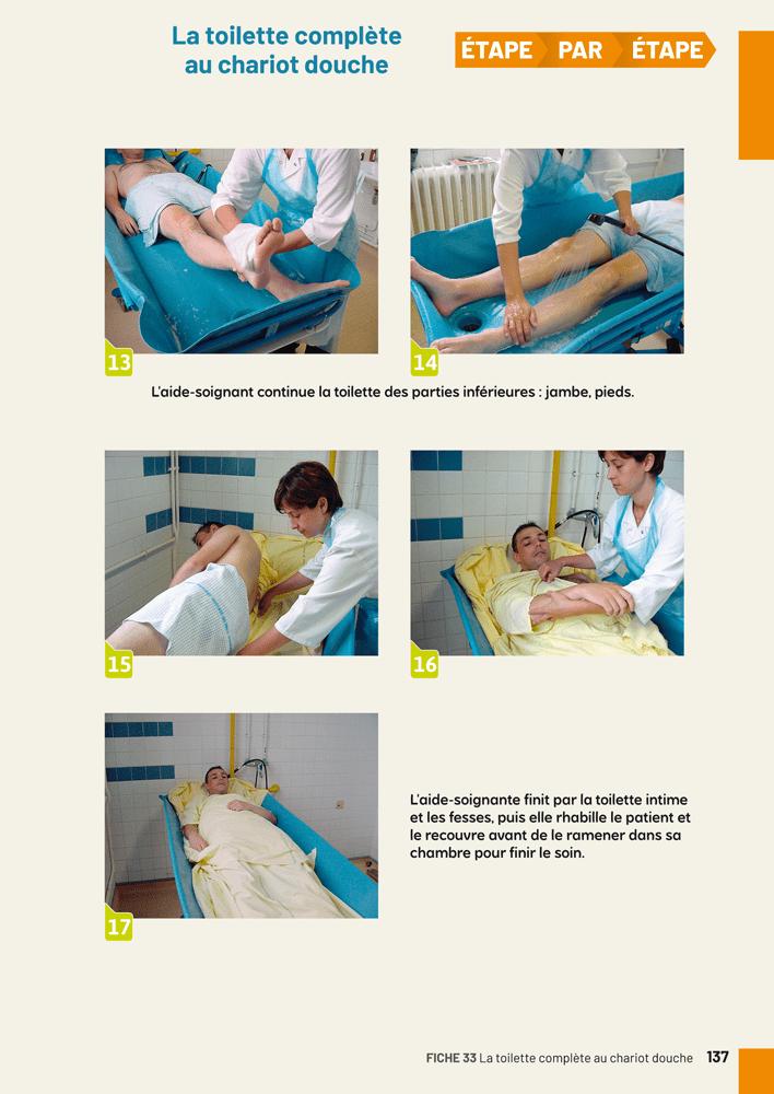 80 fiches pratiques aide soignant - Analyse de pratique toilette au lit ...