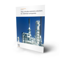 Top 5 circular economy solutions for chemical companies