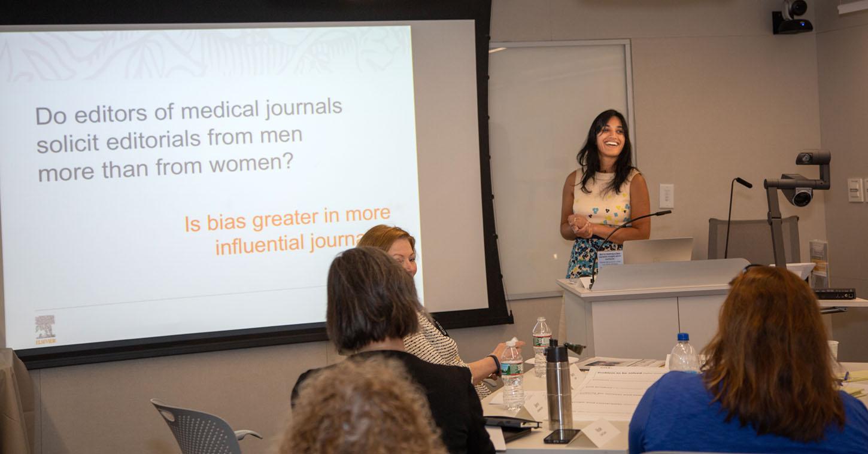Bamini presents at Harvard workshop