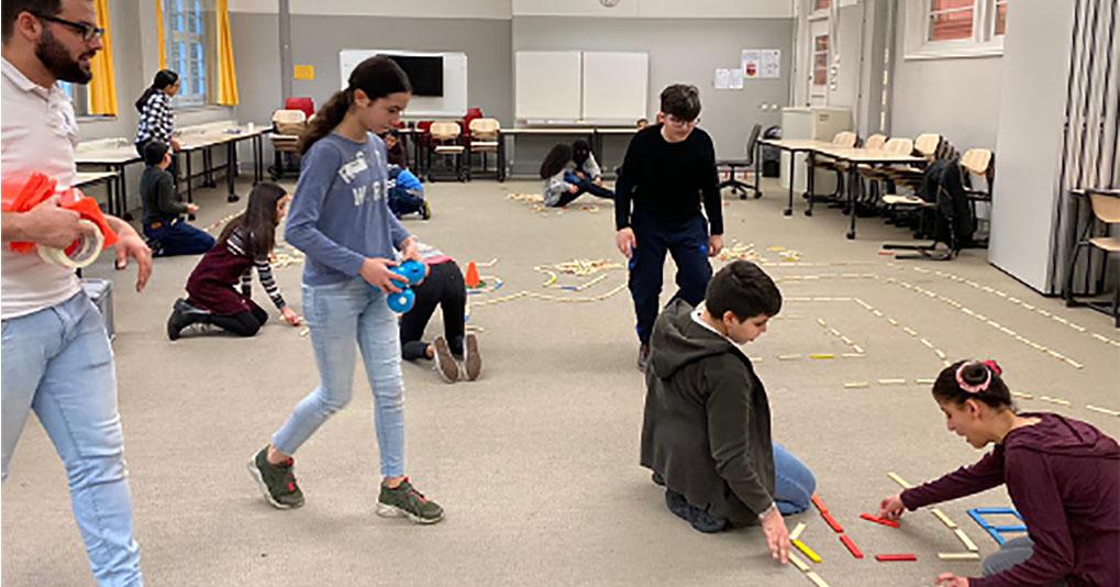 IMC Weekendschool robots main