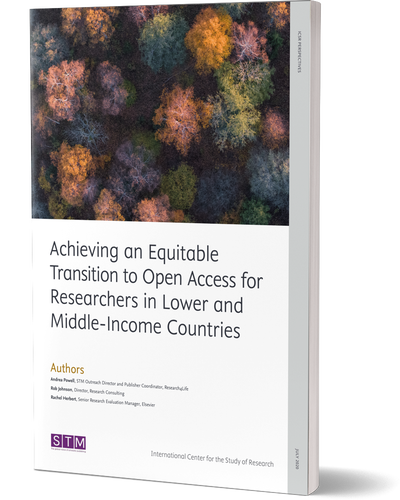 Equitable transition to Open Access | ICSR Perspectives