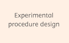 Experimental procedure design - Reaxys for Chemicals