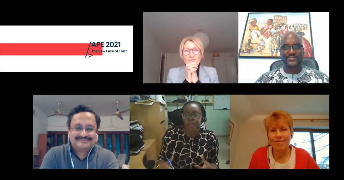 APE 2021 panelists