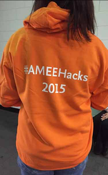 The hackathon is getting more and more orange...