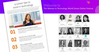 The secrets to career progression and closing the gender gap in tech