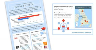 Infographic: Elsevier and the UK