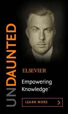 "At Elsevier, we're proud of our long history of expanding the boundaries of knowledge for the benefit of humanity. This legacy continues to empower us today. For stories about people and projects empowered by knowledge, we invite you to visit <a href=""https://www.elsevier.com/about/empowering-knowledge?utm_source=EC&amp;utm_campaign=EC-Undaunted&amp;utm_medium=EC-Story#undaunted"">Empowering Knowledge</a>."