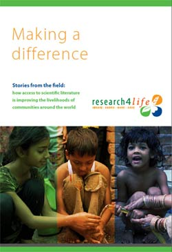 This free booklet is available on the <a href='http://www.research4life.org/wp-content/themes/R4L-Theme/documents/R4L_Making_a_difference_final_LR.pdf' target='_blank'>Research4Life website</a>.