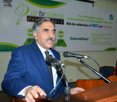 The winners were announced by Engr. Syed Imtiaz Hussain Gilani, Chairman of Pakistan's Higher Education Commission.