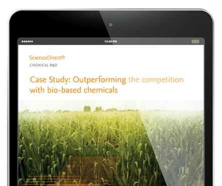Outperforming the competition with bio-based chemicals - ScienceDirect | Elsevier Solutions