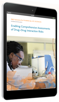 Hacemos posible la elaboración de evaluaciones completas de riesgos de interacción entre fármacos - PharmaPendium | Elsevier