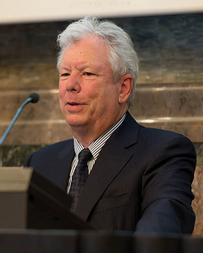 "Richard H. Thaler was awarded the Sveriges Riksbank Prize in Economic Sciences in Memory of Alfred Nobel ""for his contributions to behavioural economics."" (Credit: ANP)"