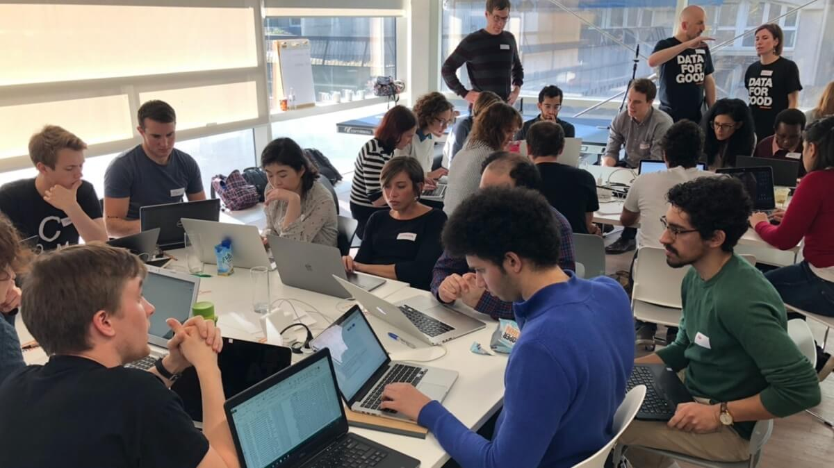 #DataDive UK: Follow data scientists and developers in a hackathon for charities