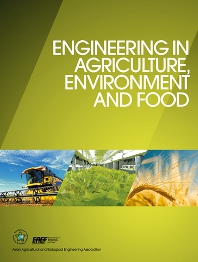 journal cover of Engineering in Agriculture, Environment and Food