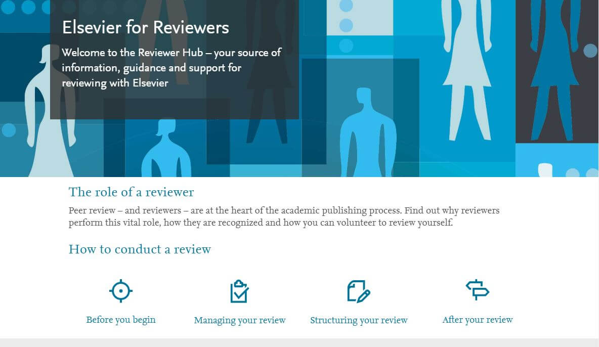 Reviewer hub screenshot