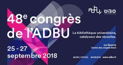 Rejoignez-nous au 48e Congrès de l'ABDU