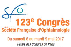 Congrès de la Société Française d'Ophtalmologie du 6 au 9 mai 2017 à Paris