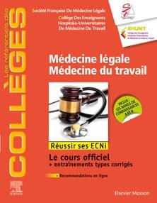 médecine légale médecine du travail référentiels des collèges