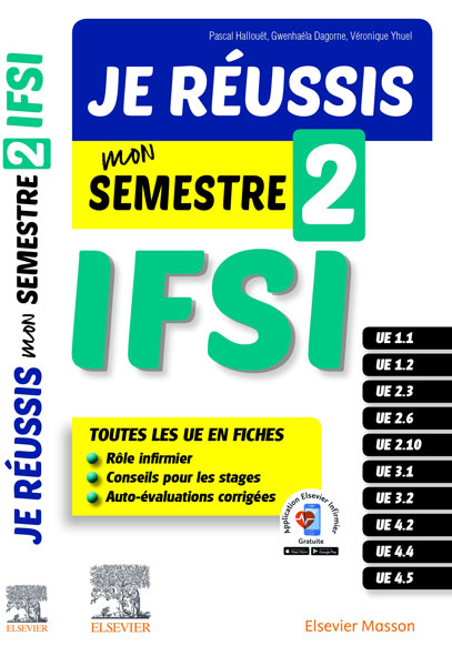 je reussis mon semestre 2 IFSI