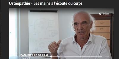 Jean-Pierre Barral dans l'émission Les mains à l'écoute du corps