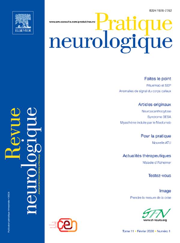 Pratique Neurologique FMC