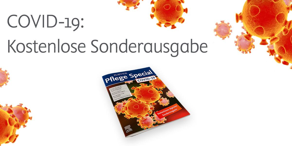 Kostenloses Elsevier Pflege Special zu COVID-19 verfügbar