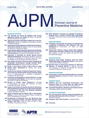 COVID-19 Pandemic Collection in AJPM