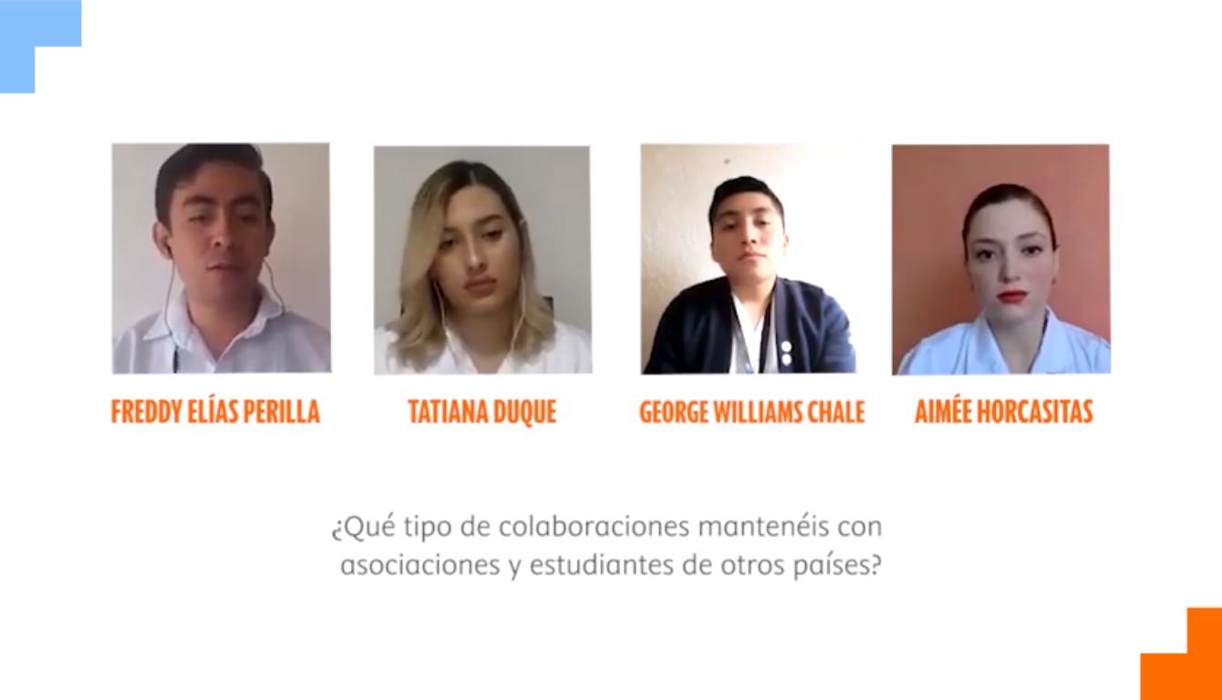 Estudiantes de Enfermería definen las bases del (mejor) futuro de la profesión: del trabajo local al internacional