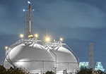 Storage tank for gas and liquid chemicals