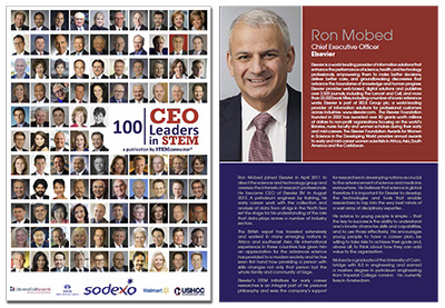 Ron Mobed in STEMConnector 100 CEO Leaders